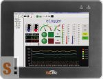 """VP-4131 # ViewPAC PLC/CE 5.0/3 hely/10.4"""" érintőképernyős Touch LCD, ICP DAS, ICP CON"""