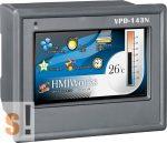 "VPD-143N CR # 4.3"" TouchPAD/2x RS-232/485/USB/PoE Ethernet/RTC/PLC/XV-board hely, ICP DAS"