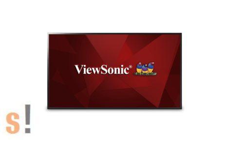 """ViewSonic CDE4803 # 48""""/121,9cm FULL HD kereskedelmi digital signage LED kijelző integrált média lejátszóval"""