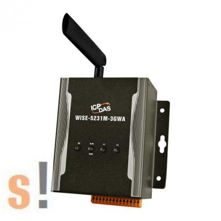 WISE-5231M-3GWA # IIoT Koncentrátor/kontroller/CE7.0/Web-bázisú/Intelligens/SMS/GSM, ICP DAS