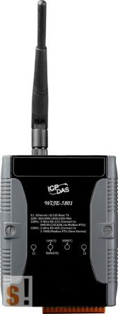 WISE-5801 # I/O/Adatgyűjtő/Datalogger Modul/Modbus RTU/DCON/SMS, ICP DAS