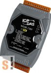 WISE-7105 # POE Controller/Modbus TCP/PoE Ethernet/8x AI/hőelem/4x DO/szigetelt, ICP DAS
