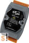 WISE-7119 # POE Controller/Modbus TCP/PoE Ethernet/8x AI/ túlfeszültség védelemmel/4x DO/szigetelt, ICP DAS