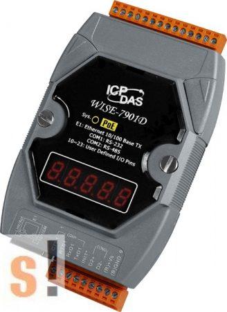WISE-7901D # POE Controller/Modbus TCP/User defined I/O/LED, ICP DAS
