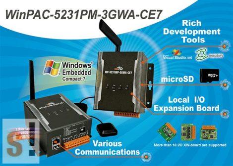 WP-5231PM-3GWA-CE7  # WinPaC Controller/CortexA8/CE7/GSM/WCDMA/GPS, ICP DAS