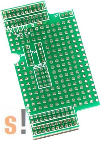X000 # I/O bővítő kártya/prototípus/kicsi/38x64mm ICP DAS