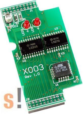 X003 # I/O bővítő kártya/Self-Test/64x32mm ICP DAS