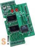 X004 # I/O bővítő kártya/Self-Test/64x36mm ICP DAS