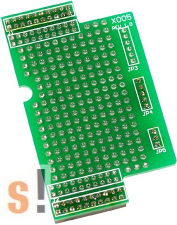 X005 # I/O bővítő kártya/prototípus/kicsi/38x64mm ICP DAS