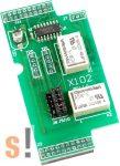 X102 # I/O bővítő kártya/2x relé kimenet RO, ICP DAS