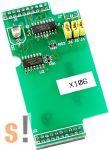 X106 # I/O bővítő kártya/3x DI/2x DO, ICP DAS