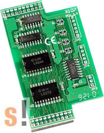X107 CR # I/O bővítő kártya/6x DI/7x DO, ICP DAS