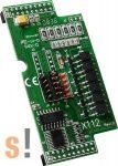 X112 CR # I/O bővítő kártya/6x DO/Source/szigetelt, ICP DAS