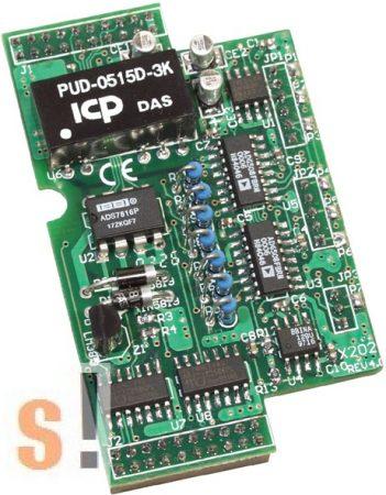 X202 # I/O bővítő kártya/7x AI/0~20mA, ICP DAS
