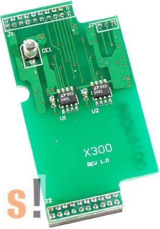 X300 # I/O bővítő kártya/2x AO/0~4.095V, ICP DAS