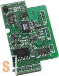 X303 # I/O bővítő kártya/1x AI/+-5V/1x AO/+-5V/4x DI/6x DO, ICP DAS