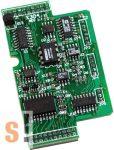 X304 # I/O bővítő kártya/3x AI/+-5V/1x AO/+-5V/4x DI/4x DO, ICP DAS