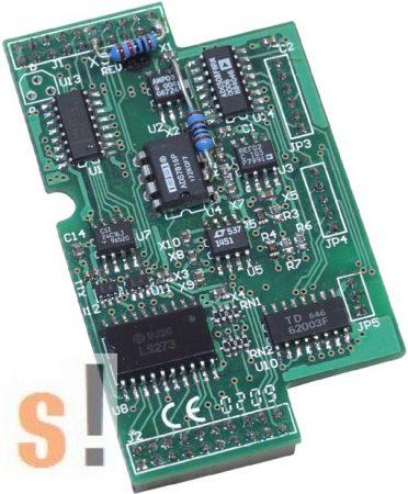 X305 # I/O bővítő kártya/7x AI/+-5V/1x AO/+-5V/2x DI/2x DO, ICP DAS