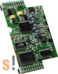 X305D # I/O bővítő kártya/8x AI/0~20mA/2x DI/2x DO, ICP DAS