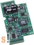 X310 # I/O bővítő kártya/2x AI/2x AO/3x DI/3x DO, ICP DAS