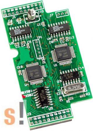 X502 CR # I/O bővítő kártya/2x RS-232/5 pin/3 pin, ICP DAS