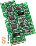 X505 CR # I/O bővítő kártya/3x RS-232/5 pin, ICP DAS