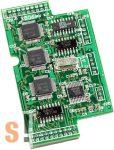 X506 CR # I/O bővítő kártya/6x RS-232/3 pin, ICP DAS