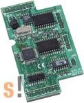 X510 # I/O bővítő kártya/1x RS-232 port/3 pin/5x DI/5x DO/2x 128K EEPROM, ICP DAS