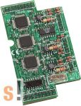 X511 CR # I/O bővítő kártya/3x RS-485 port, ICP DAS