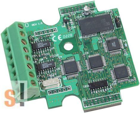 X560 # I/O bővítő kártya/3x RS-232 port/3 pin/8MB Flash, ICP DAS