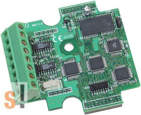 X561 # I/O bővítő kártya/3x RS-232 port/5 pin/64MB Flash, ICP DAS