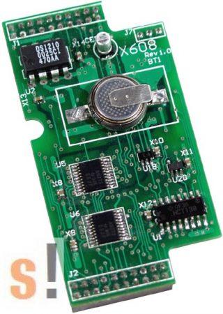 X608 CR # Memória bővítő kártya/512 KB SRAM/Battery backup, ICP DAS