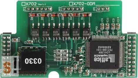 X702 # Enkóder bővítő kártya/2 tengelyes/32 bit, ICP DAS