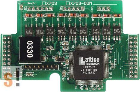 X703 # Enkóder bővítő kártya/3 tengelyes/32 bit, ICP DAS