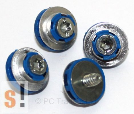 X9L44A6 # 511945-001 - HP Compaq HDD kék rögzítő csavar/ szigetelt csavar/kék színű/4db csomagonként/ 450712-001/ HP