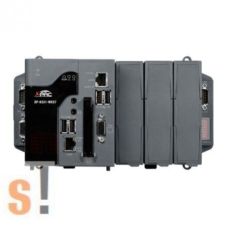 XP-8331-WES7 CR # XPAC/Controller/XP-8000-WES7/WES7 OS/x86 CPU és 3x I/O hely, ICP DAS