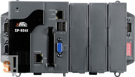 XP-8341-EN # Xpac Controller/AMD-LX800/WES2009/3x férőhely, ICP DAS