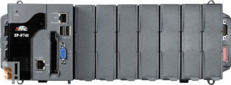 XP-8741-EN # Xpac Controller/AMD-LX800/WES2009/7x férőhely, ICP DAS