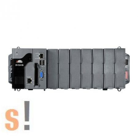 XP-8748-CE6 # XP-8000 Win-GRAF PAC Controller/AMD-LX800/Windows CE6 OS/7x férőhely, ICP DAS