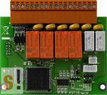 XV116 CR # I/O bővítő kártya/VPD/5x DI/szigetelt/6x relé ki RO, ICP DAS
