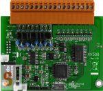 XV308 CR # I/O bővítő kártya/VPD/8x AI/8x DI/O/szigetelt, ICP DAS