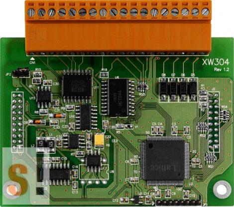 XW304 # I/O Bővítő kártya/LP-WP-WISE-5000/6x AI/1x AO/4DI /4x DO, ICP DAS