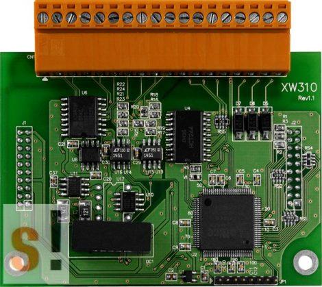 XW310C # I/O Bővítő kártya/LP-WP-WISE-5000/4x/8x AI/2x AO/3x DI /3x DO, ICP DAS