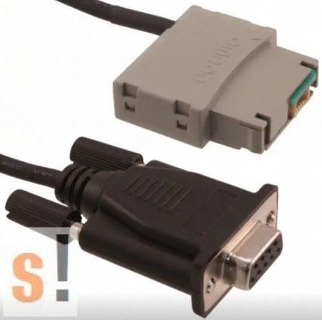 ZEN-CIF01 # OMRON ZEN V2 sorozat programozó kábel/2 méter/D-SUB9 csatlakozó/ZEN csatlakozó, Omron