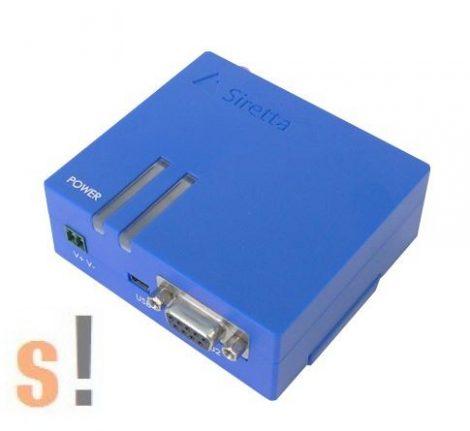 ZEST-N-UMTS # 3G/UMTS/GPRS GSM modem / USB & RS232 port/ EU/DIN sínre/Ipari/Starter Kit, Siretta