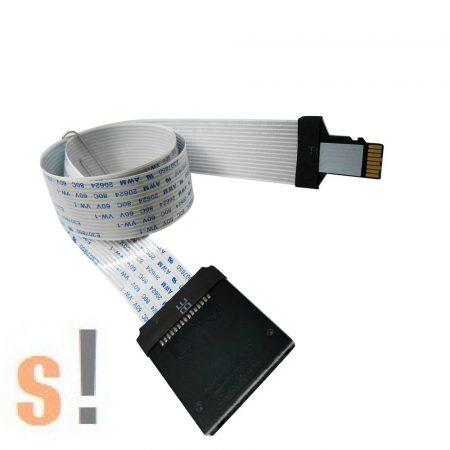 ZHGZ7737 #TF / Micro SD - SD kártya átalakító adapter/hosszabbító/ toldó/62 cm