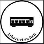 8 portos nem menedzselhető ipari Ethernet switch 10/100