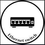 4 portos nem menedzselhető ipari Ethernet switch 10/100