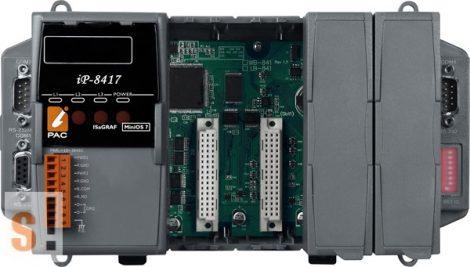 iP-8417 # Controller/MiniOS7/ISaGRAF/4 hely/512KB, ICP DAS
