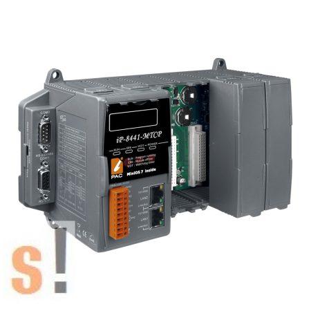 iP-8441-MTCP # Controller/Mini OS7/Modbus TCP/RTU/ASCII/4 hely/microSD, ICP DAS